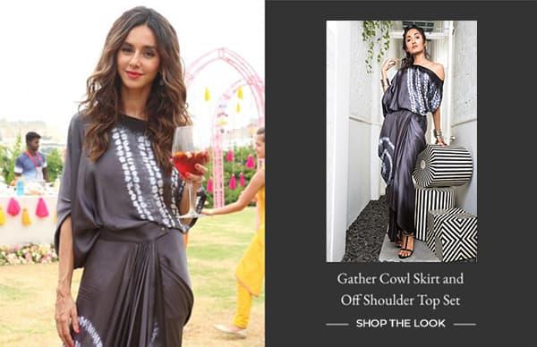 gather-cowl-skirt-and-off-shoulder-top-set